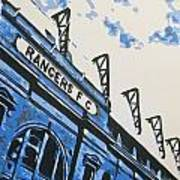 Glasgow Rangers Fc - Ibrox Park Poster