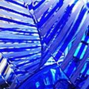Glass Abstract 223 Poster
