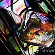 Glass Abstract 314 Poster