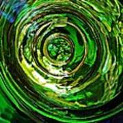 Glass Abstract 575 Poster