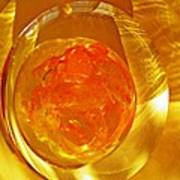 Glass Abstract 580 Poster