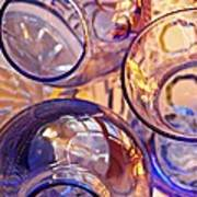 Glass Abstract 620 Poster