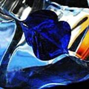 Glass Abstract 706 Poster