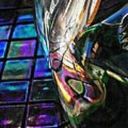 Glass Abstract 770 Poster