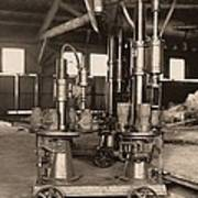 Glass-blowing Machine, 1908 Poster