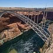 Glen Canyon Dam Bridge Poster