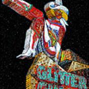 Glitter Gulch Girl Poster
