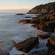 Glorious Maine Acadia National Park Poster