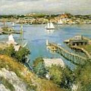 Gloucester Harbour Poster by William Leroy Metcalf