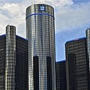 Gm Building Poster