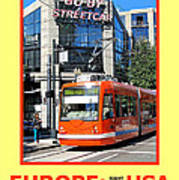 Go By Streetcar Poster