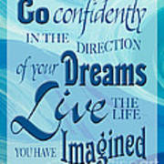 Go Confidently Poster