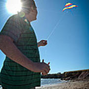Go Fly A Kite Poster