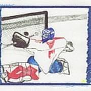 Goalie By Jrr Poster