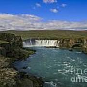 Godafoss Waterfall  Poster