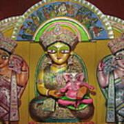 Goddess Durga Poster by Pradipkumarpaswan