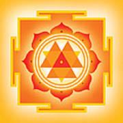 Goddess Durga Yantra Poster by Soulscapes - Healing Art