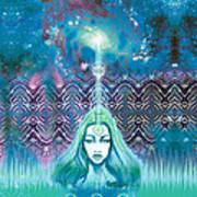 Godess Wisdom Poster