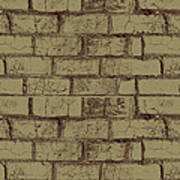 Gold Bricks Poster