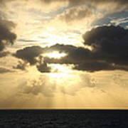 Gold Coast Sunrise Poster