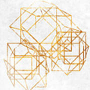 Gold Cubed II Poster