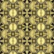 Gold Metallic 16 Poster
