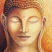 Golden Buddha Poster