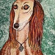 Golden Dog Poster