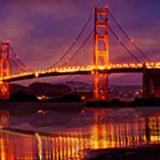 Golden Gate At Bakers Beach Poster