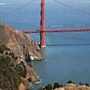 Golden Gate Bridge II Poster by Jenna Szerlag