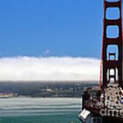 Golden Gate Bridge Looking South Poster