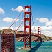 Golden Gate Bridge Poster by Sarit Sotangkur