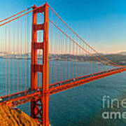 Golden Gate - San Francisco Poster