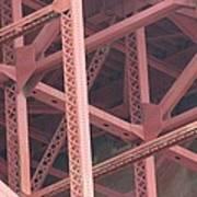 Golden Gate's Skeleton Poster