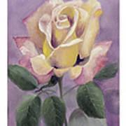 Golden Glory Poster by Nancy Edwards