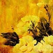 Golden Glow Poster