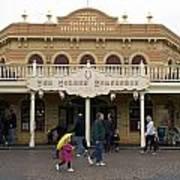 Golden Horseshoe Frontierland Disneyland Poster