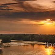 Golden Payette River Poster