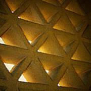Golden Stonework  Poster