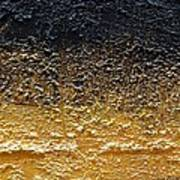 Golden Time - Abstract Poster by Ismeta Gruenwald
