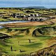 Clare  Golf At Lahinch Gc Poster