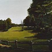 Golf Course In Duxbury Ma Poster