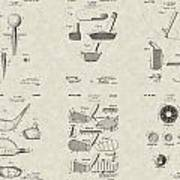 Golf Patent Collection Poster