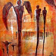 Golgotha Petroglyph Poster