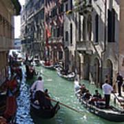 Gondolas - Venice Poster