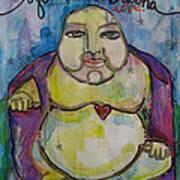 Good Luck Buddha Poster