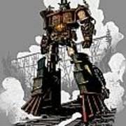 Good Robot Poster by Brian Kesinger