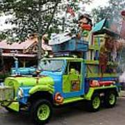 Goofy On Safari Poster