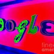Google's Hallway Poster
