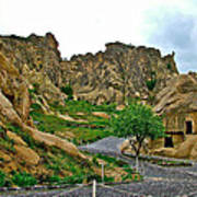 Goreme Open Air Musuem With Six Early Christian Churches In Capp Poster